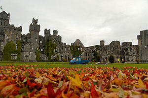 Cong, County Mayo - Image: Ashford Castle 640x 480