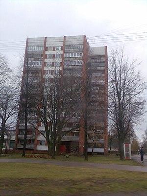 Dzirciems - 12 floor highrise in Dzirciems on Dzirciema street