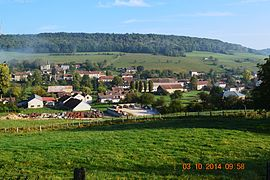 A general view of Aubigny-lès-Sombernon
