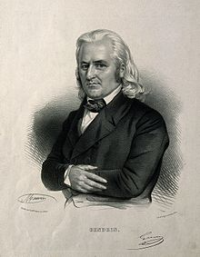 Auguste-Nicolas Gendrin. Lithograph by N. E. Maurin. Wellcome V0002208.jpg