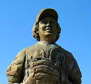 Aurelio López - Statue of Aurelio López in Tecamachalco, Puebla