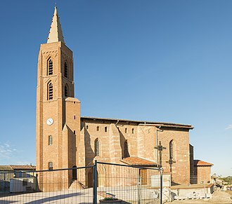 Aussonne - Image: Aussonne L'église