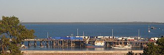 Australia (2008 film) - Filming of Australia at Stokes Hill Wharf