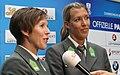 Austrian Olympic Team 2012 a Doris Schwaiger, Stefanie Schwaiger 02.jpg