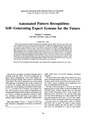Automated pattern recognition- self-generating expert systems for the future (IA jresv90n6p521 A1b).pdf