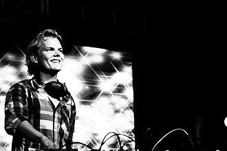 Avicii discography - Avicii performs in London in 2011.