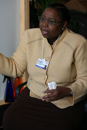 Awa Marie Coll-Seck - At the World Economic Forum in 2009