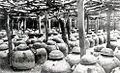 Awamori production - jars of moromi.jpg