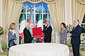 Award ceremony was held as part of Italian President's official visit to Azerbaijan.jpg