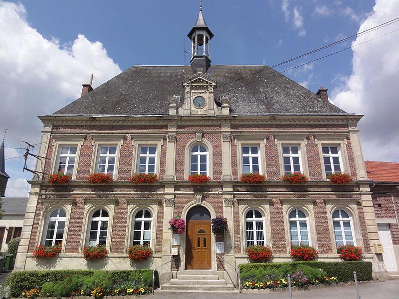 Béthancourt-en-Veaux (Aisne) mairie
