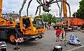 Bürkliplatz - Demontage 'Maman' 2011-07-28 20-13-00.jpg