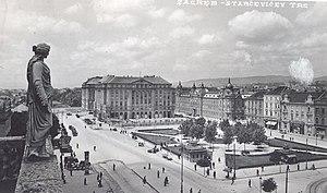 Zagreb - Ante Starčević square.