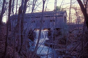 Bissell Bridge (Massachusetts) - Image: BISSELL BRIDGE