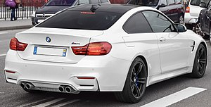 BMW M4 - BMW M4 coupe