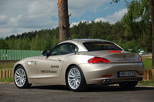 BMW Z4 (E89) - E89 with roof unretracted