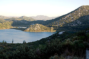 Baćina lakes - View of the Baćina lakes