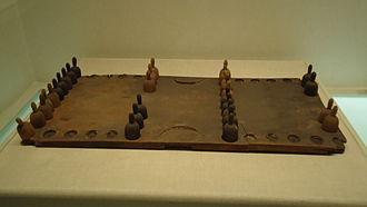 Backgammon - Backgammon set from around the 10th century, China
