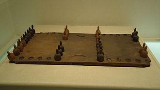 Backgammon - Backgammon set from around the 10th century, China