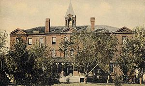Bacone College - Rockefeller Hall, ca. 1910
