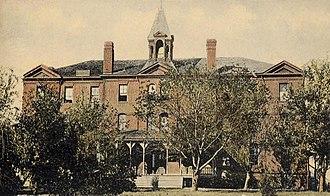 Bacone College - Rockefeller Hall, ca. 1910