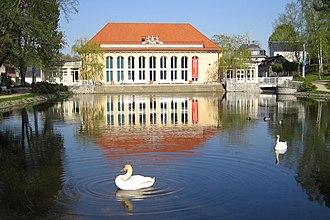 Bad Brambach - In the spa park
