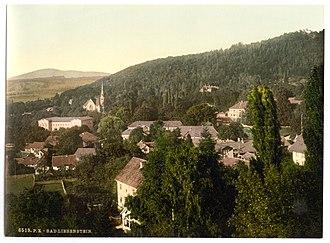 Bad Liebenstein - Bad Liebenstein 1900