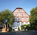 Bad Schussenried - Fachwerkhaus Alte Apotheke.JPG