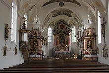 Bad Wörishofen - St. Justina, innen (2012-07-12).JPG