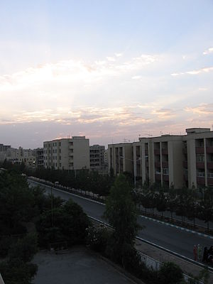 Baharestan, Isfahan - Olfat Blvd. in Baharestan New Town