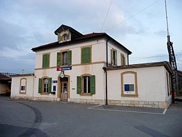 Chavornay train station