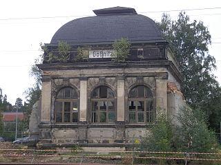 Gößnitz station