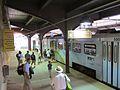 Baltimore Light Rail train at Penn Station, July 2012.jpg
