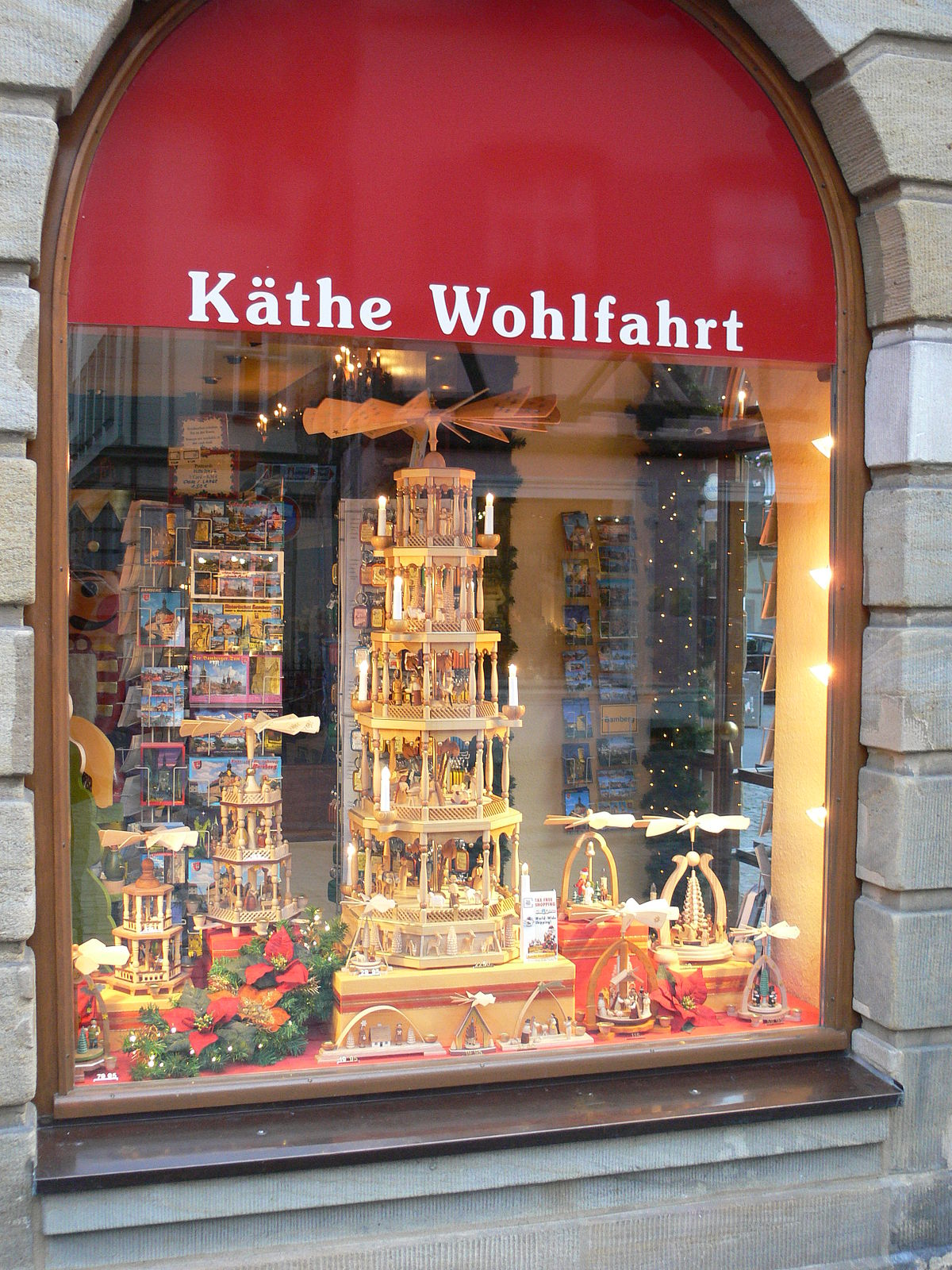 K the wohlfahrt wikipedia for The christmas shop
