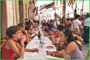 A Contrada banquet