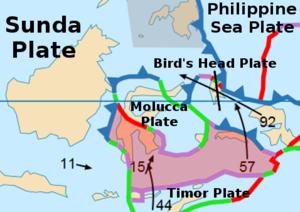 Banda Sea Plate - Image: Banda Sea Plate