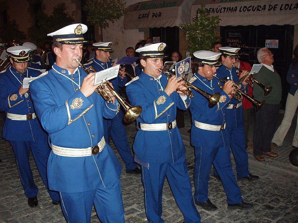 Banda de música de La Borriquita
