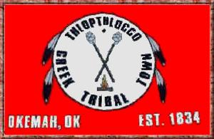 Thlopthlocco Tribal Town - Image: Bandera Thlopthlocco