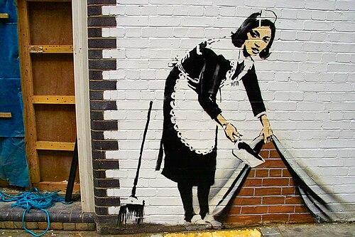 Banksy, Hoxton