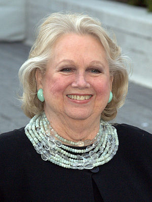 Barbara Cook - Cook at the 2009 premiere of the Metropolitan Opera