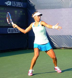 Barbora Strýcová - Záhlavová-Strýcová at 2010 US Open