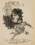 1847 caricature of Barnett Nathan