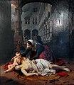Barthélemy Vieillevoye, Le sac de Liège en 1468 (peint en 1842) , Grand Curtius, Liège.JPG