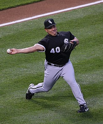 Bartolo Colón - Colón with the Chicago White Sox in 2009