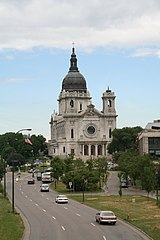 The Basilica of St Mary in Minneapolis, Minnesota.