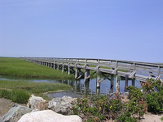 Yarmouth Port, Massachusetts - Boardwalk at Bass Hole