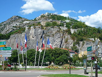 Bastille (Grenoble) - Hill and fortress of the Bastille