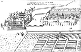 Château de Gaillon - Lateral view from the east, 1576