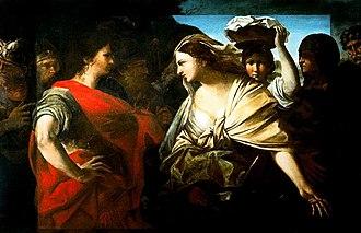 Giovanni Battista Ruggieri - David and Abigail, Galleria Nazionale d'Arte Antica, Rome.