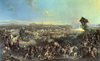 Italian and Swiss expedition - The Battle of Novi, an Alexander Kotzebue painting