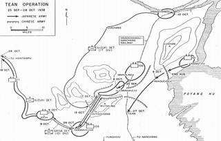 Battle of Wanjialing 1938 battle in China